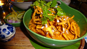 Khao Soi at Ginger and House in Chiang Mai