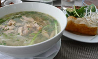 Chicken Pho at Spice House Phu Quoc