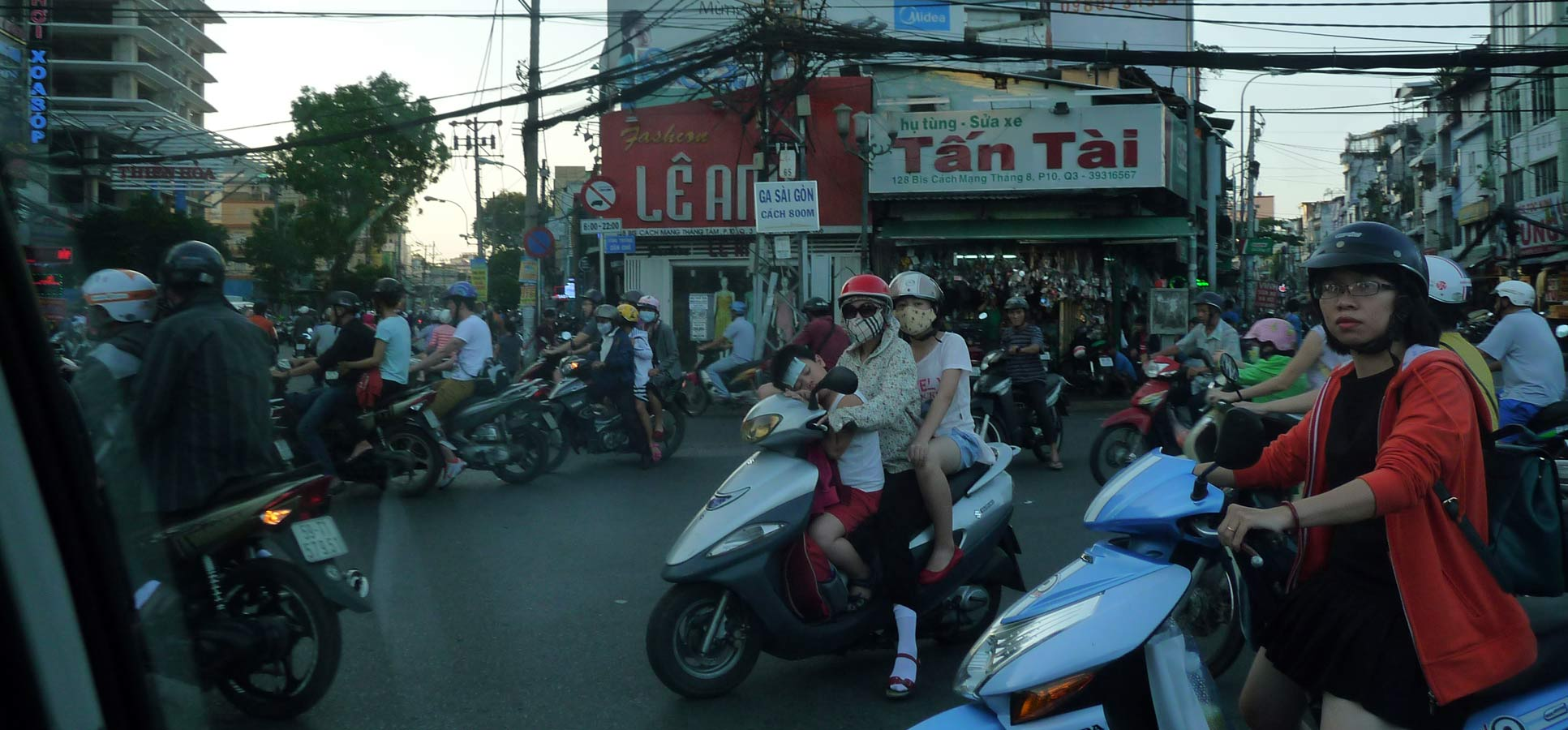 Travel reviews Saigon Vietnam